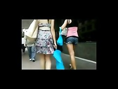 Windy Upskirt in Streets BVR Thumb