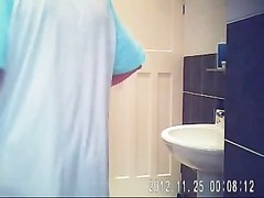 Hidden cam in tub room ultimately  caught my nice mom nude unimaginative! Thumb