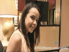 Dillion Harper takes multiple POV jizz flows  on in Vegas Thumb