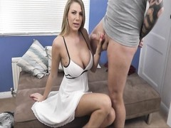 Girlfrend soiled Talk in White Dress Thumb