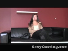 Casting - Gorgeous shy girl gets really horny Thumb