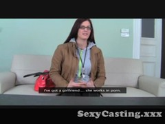 Casting - Bookish babe takes it in the ass Thumb