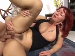 Deutsche hairy Milf Thumb