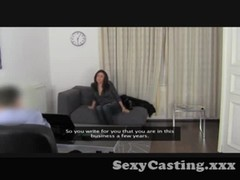 Casting - Dark haired anal sex freak Thumb