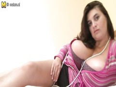 glorious mother with ideal  large breasts Thumb