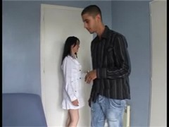 Accidental creampie with hairy girl !! French amateur Thumb