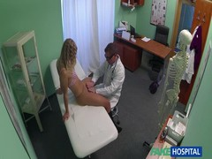 Doctor fucks a hot young blonde in the video by Fake Hospital Thumb