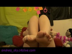 For all my feet and toe lovers- andrea sky Thumb