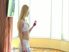 FantasyHD Blonde teen gets workout when she is fucked Thumb