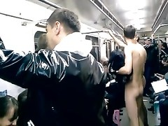 naked in the metro Thumb
