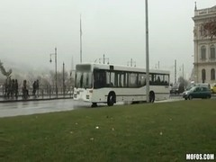 Watch how this teen couple is fornicating in public bus! Thumb