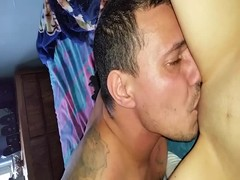 eating wife's pussy Thumb