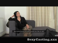 Casting - beauty with dreadlocks gets nailed Thumb