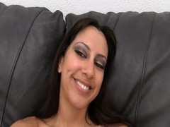 Naught American chick with small tits want to be fucked in her wet cunt Thumb