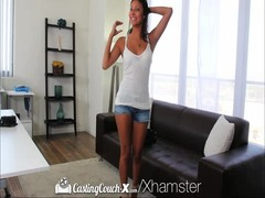 Casting Couch-X Texas teen eaten out on cam audition Thumb