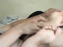 tickle Footjob Cumpilation two Thumb