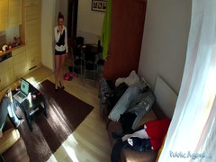 Awesome chick is undressing slowly on hidden camera Thumb
