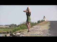 Erotic and nude in public on the road movie Thumb