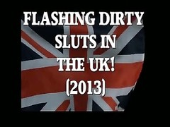 UK ladies staring and rubbing Flashers! (2013) Thumb