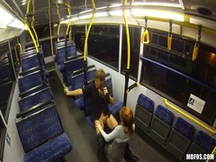 Sex in the train with a slender cock-swallowing teenager Thumb