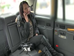 Alluring babe being seduced and fucked by old taxi driver Thumb