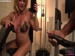 WildKat and Nadia bear an intelligent Workout Time Thumb
