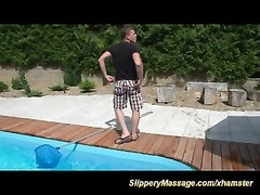 loopy poolboy are ready for slimy  nuru massage Thumb