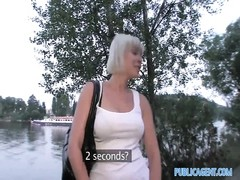 PublicAgent stiffy throating short damsel with blondie hair Thumb