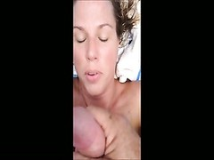 9 sprays of cum for my wifey Thumb