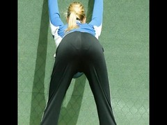 Maria Sharapova - upskirt, hooters, caboose  and camel toe Thumb