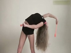 bendy Gymnast Masha & naked Classic Workout Thumb