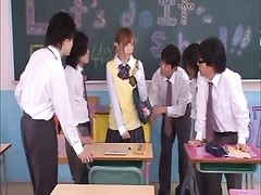 Japanese school chick Yuu Namiki Thumb