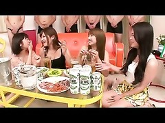 big-boobed oriental women Orgy Feast portion one Thumb