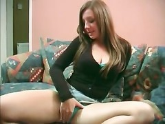 British whore Cate gives a oral job and some panty play Thumb