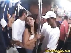 Brazil party orgy latina stunners tough screwed with big chisels Thumb
