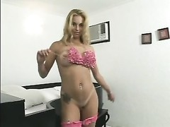 Nikki Rio Brazilian large booty And big clit blonde Thumb