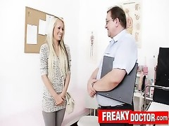 bizarre gyno medic checks blondy Venus devil beaver Thumb