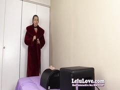 Lelu Love-Submissive Gagged sybian orgasm Thumb