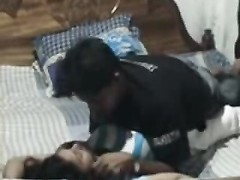 Desi indian youthfull  wife playing with hubbys fuck-stick Thumb