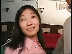 asian wife Does a Group Thumb
