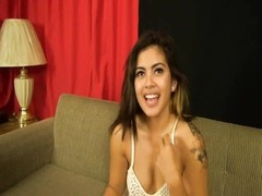 youthfull  Filipina makes her porn debut in tights Thumb
