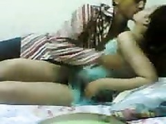 warm Arab teenage  couple pumelled In Romm Spycam Thumb