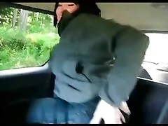 going knuckle deep  anal solo in car Thumb