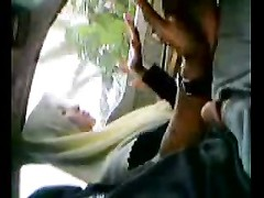 Malay hijab damsel giving a hand job two Thumb