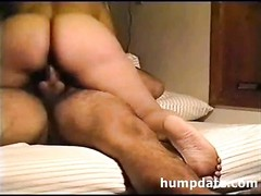 Latin wife with large bootie riding hubbys knob Thumb