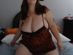 Chubby Big Busty on Webcam - negrofloripa Thumb