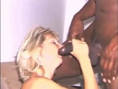 Hot wife takes on a Big Black Bull Thumb