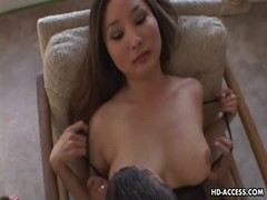 Sweet Asian babe moans while being screwed ha Thumb