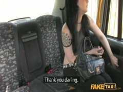 Alluring brunette getting fucked in her head in the video by Fake Taxi Thumb
