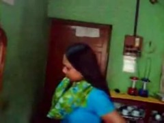 Hot Indian Cute Aunty prepare herself to fuck her Customer Thumb